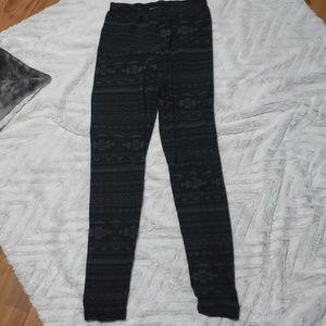 Womens tribal print leggings medium/large